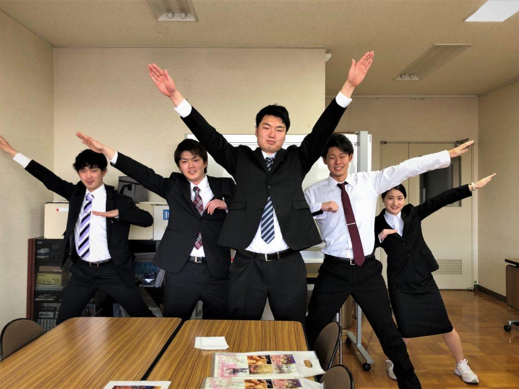 平成31年度 新入社員5名を紹介します。